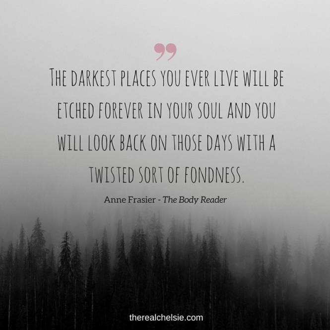 AnneFrasier TheBodyReader quote
